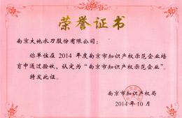 南京市知识产权示范企业